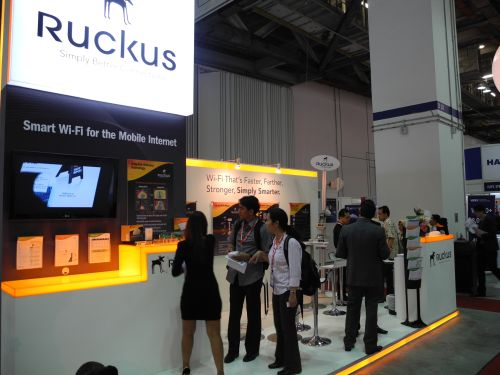 CommunicAsia 2011 - Ruckus Wireless