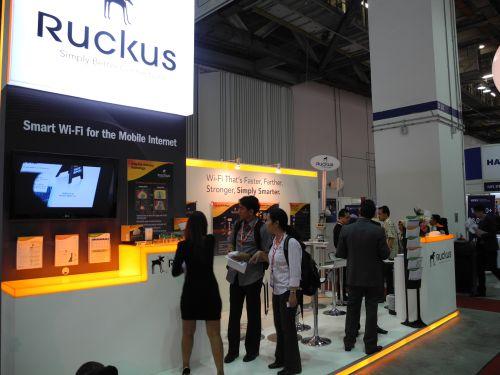 CommunicAsia 2011 - Ruckus Wireless
