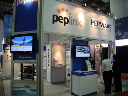 CommunicAsia 2011 - Peplink