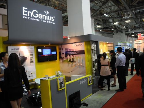 CommunicAsia 2011 - EnGenius