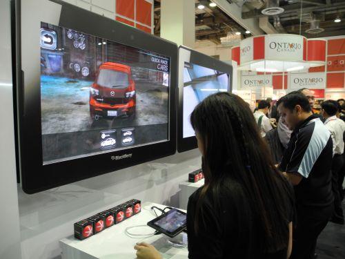 CommunicAsia 2011 - RIM