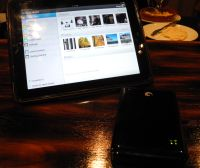 Seagate GoFlex Satellite Wireless in action