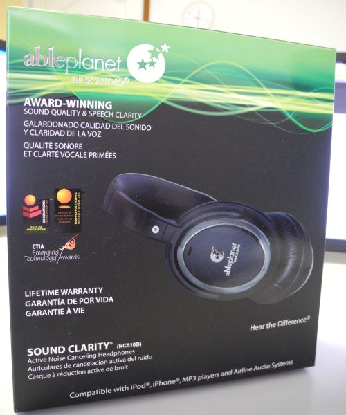 Able Planet NC510B Headphones