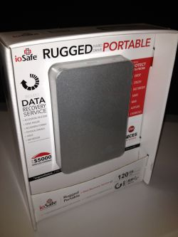 ioSafe Rugged Portable SSD