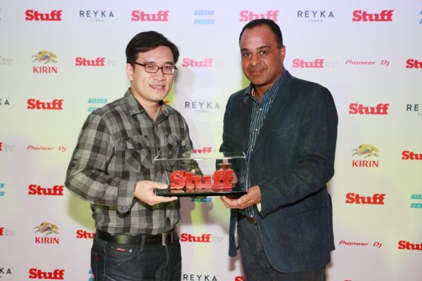 Receive the Stuff Best Tech Blog Award