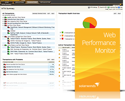 SolarWinds Web Monitoring