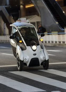 Toyota i-Road Vehicle