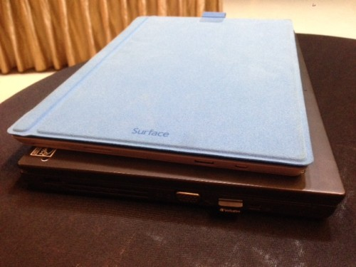 Surface Pro 3 with Lenovo X240