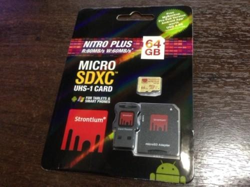 Strontium Nitro microSDXC card