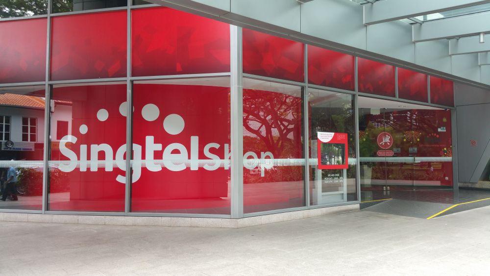 Singtel Shop