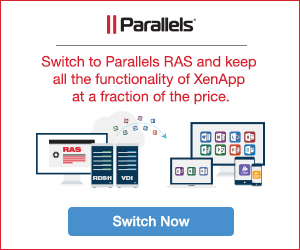 Parallels RAS ad