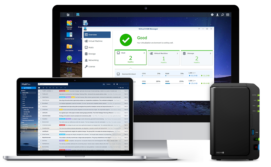 Secure collaboration with your Synology NAS – TechBlogger io